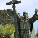 'Racist': statue of Spanish missionary Junipero Serra defaced in Spain