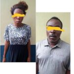 Graphic Photo Of Lady Arrested With A Newly Aborted Baby, Quack Chemist Nabbed