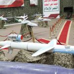 Saudi coalition shoots down Houthi ballistic missiles and drones