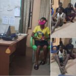 Photos: Woman Saved From Men Who Attacked Her With A Big Stick In Imo State