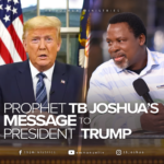 TB Joshua Releases Fresh Prophecy, Sends Strong Warning To Donald Trump