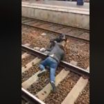 Three jailed for pushing black teen onto train tracks (VIDEO)