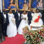 PHOTOS: Triplet Brothers Marry Triplet Sisters In Enugu State