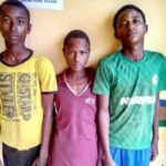 HIGHWAY ROBBERY: THREE FULANI TEENAGERS ARRESTED FOR HIGHWAY ROBBERY IN OGUN