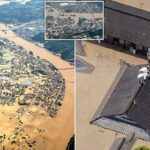 Dozens dead, missing in Japan as heavy rain causes floods, mudslides (photos)