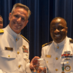 See The Nigerian Officer Who Was Honored By US Navy For Accountability