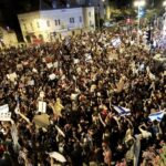 Israel's protests continue as thousands march against Netanyahu's handling of coronavirus