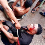 GRAPHIC PHOTOS: Two Burnt To Death Over Robbery Allegation