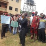 Anambra Community Protests Against Pastor, Others For Allegedly Diverting COVID-19 Palliative