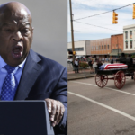 Body of civil rights icon John Lewis crosses Alabama bridge in solemn farewell (PHOTOS)
