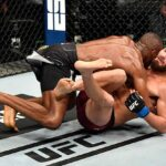 Nigerian UFC Star, Kamaru Usman Defeats Jorge Masvidal To Retain Welterweight Title (photos)