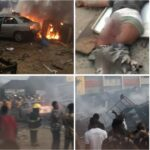 PHOTOS: Two Confirmed Dead And Many Properties Razed As Gas Explosion Rocks Ajao Estate In Lagos