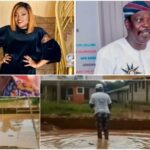 PHOTOS: Pa James Gets A Brand New House From Funke Akindele After He Lost His Home To Flood