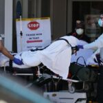 Five US states report one-day records for Covid-19 deaths