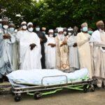 Tears As Buhari's Friend, Isa Funtua Is Buried In Abuja (Photos)