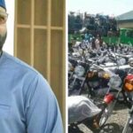 Senator Shares 55 Cars, 96 Motorcycles, 83 Keke In Bauchi To Empower Youths (Photos)