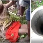 Woman thrown inside a well by a kidnapper, rescued alive after 3 days (Graphic Photos & Videos)