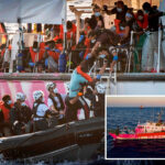All migrants moved off Banksy-funded rescue vessel stranded in Mediterranean