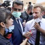 French President Macron's visit touches a chord in shellshocked Beirut