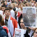Belarus protesters demand Lukashenko's resignation (photos)
