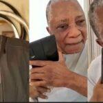Nigerians React As Video Of Late Senator Kashamu Buruji Asking Billionaire, Kessington Adebutu For Forgiveness Before His Death Surfaces
