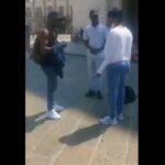 Man Sees His Girlfriend With Another Man After She Lied To Him That She Was Travelling (Video)
