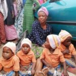 Woman Who Begs With Quadruplets Disappears After Being Asked To Bring Their Birth Certificate