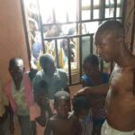 Suspected Ritualist Caught While Trying To Use Diabolical Handkerchief To Steal Manhood Of Children In Bayelsa (Photos)