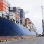 The Biggest Container Ship Ever To Come To Nigeria Berths In Onne Port, Rivers State (Photos)