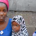 Kwara governor's wife offers to help blue-eyed mum and kids abandoned due to their eye colour