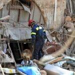 Rescuers comb through rubble of Beirut blast site as first arrests made