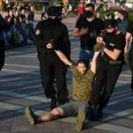 Belarusian authorities ramp up crackdown on opposition after mass protest