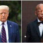 Trump avoids praising deceased civil rights hero John Lewis