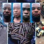PHOTOS: Alleged Suspects Involved In Ebonyi Bullion Van Robbery Were Dismissed Soldiers, Nigerian Army Says