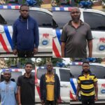 Faces Of Suspected Fraudsters Who Specialize In Cloning Sim Cards Of Prominent Deceased Nigerians And Transferring Their Money