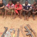 Police Parade 18 Suspected Criminals In Ekiti