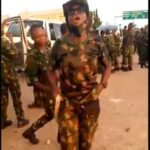 Video Of Newly Recruited Nigerian Soldiers Vowing To Deal With Civilians
