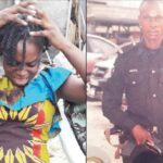 Widow of cop killed in Lagos market fire laments husband's delayed benefits