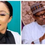 FG Is Doing Well – Tonto Dikeh Praises Buhari's Govt
