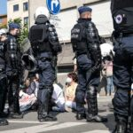 Brussels police chief suspended pending probe on tear gas use at health workers' protest