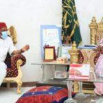 2023: Orji Kalu Visits Emir Of Minna After Meeting With IBB, Abdusalami (photos)