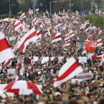 Tens of thousands of protesters flood Belarus streets putting pressure on Lukashenko (photos)