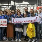 Belarusian journalists face charges for covering protests