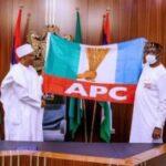 Edo debacle: Buni, Ganduje meet Buhari behind 'closed door' in Abuja