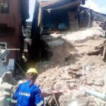 77 People Escape Death As Building Collapses In Lagos (Photos)