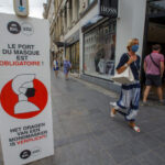 Face masks will remain mandatory in these Brussels' streets