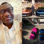 Billionaire businessman, Femi Otedola Cops Three Ferrari Portofino Whips For His Daughters (Photos)