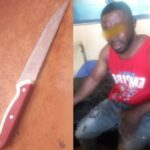 Man nabbed for attempting to cut off woman's breast in Anambra motel (Graphic photos)