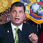 Ecuador requests arrest of ex-president Correa, exiled in Belgium