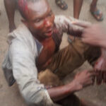 Suspected Goat Thief Gets Nabbed And Beaten To A Pulp In Abuja (Photos)